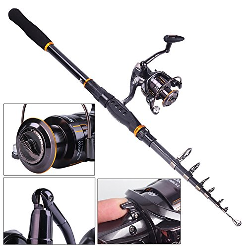Sougayilang Mini Spinning Fishing Rod - TiendaMIA.com